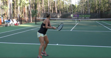 Key Elements Of The Two Handed Backhand