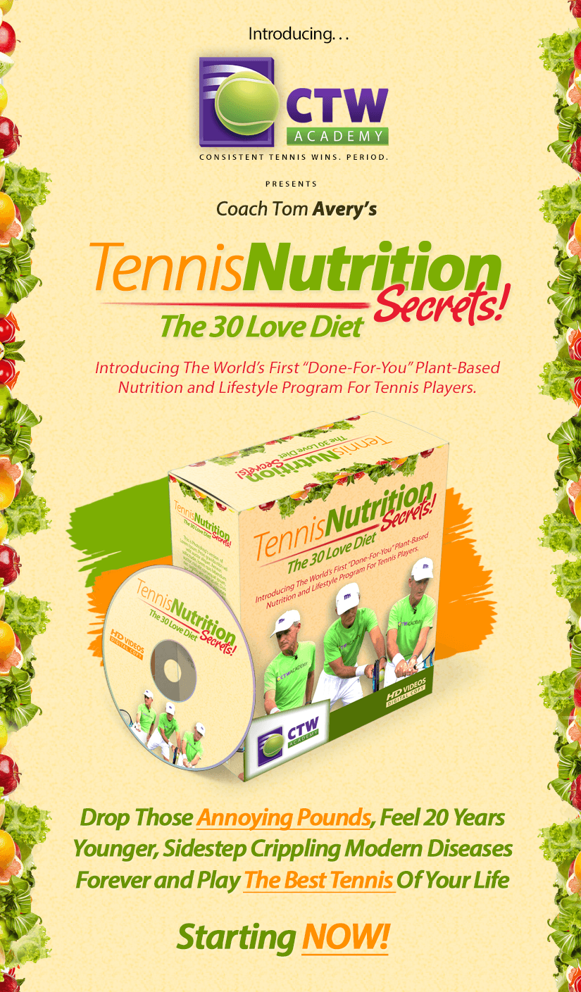 Tennis Nutrition Secrets
