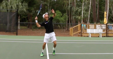 How To Hit A Home Run With Your Overhead Smash Tennis Shot
