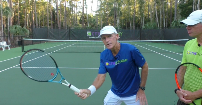 How To Hit Winning Volleys For Doubles