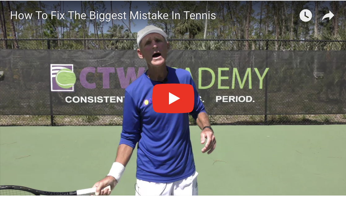 How to Fix The Biggest Mistake in Tennis