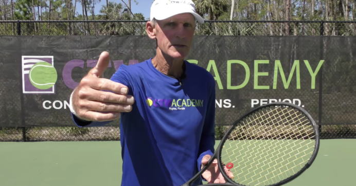 Tennis Singles Strategy Tips – Keep it Deep