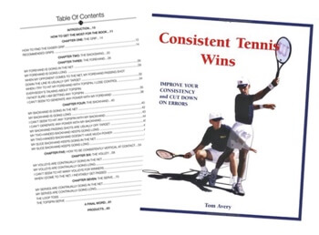 Consistent Tennis Wins Book