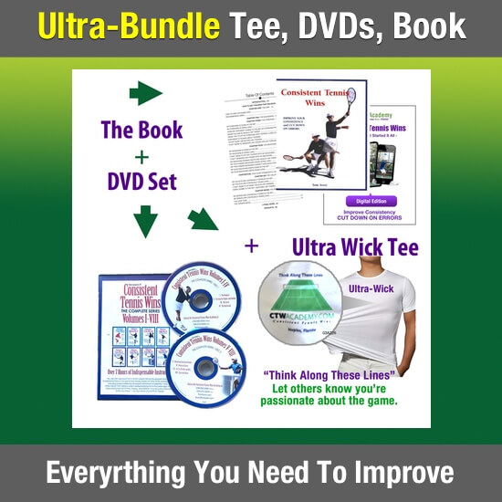 Ultra Bundle T-Shirt, Book, DVD Set