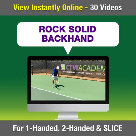 Rock Solid Backhand